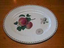 Queen's India HOOKER'S FRUIT APPLE 15 in Oval Serving Platter 1 ea