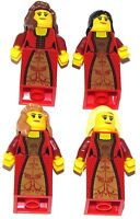 LEGO LOT OF 4 NEW CASTLE FANTASY ERA MINIFIGURES GIRLS WOMEN FIGURES