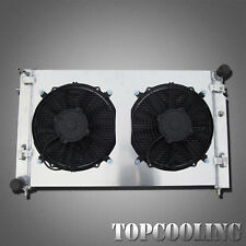 Aluminum Radiator With Shroud Fan Fits Holden Commodore VY Statesman WK 5.7L MT
