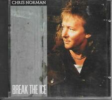 CHRIS NORMAN - Break the ice CD Album 12TR (PT RECORDS UK) 1989 RARE!!