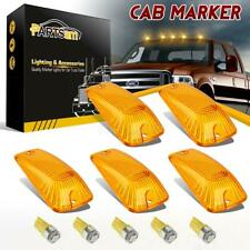 5 Amber Roof Running Light Cover 158 W5W 194 Amber 5050 LED Bulb for GMC C/Ks