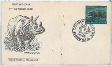 Indian Cover Animal Kingdom Postal Stamps