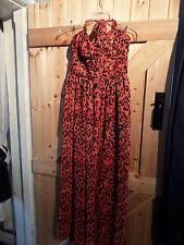 """New By Next Mother Of The Bride Party Long Halter Neck Dress Size 12 Chest 36"""""""