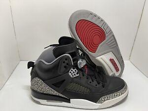 Nike Air Jordan Spizike BLACK CEMENT GREY WHITE 315371-034 size 11 EUC