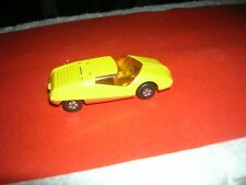 MATCHBOX YELLOW DATSUN 126X MB33 VINTAGE 1973 ORANGE BASE