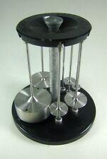 Brookefield RV/HA/HB Standard Spindle Set and Rack. Spindles 1, 2, 3, 4, 5, 6, 7