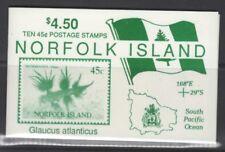 NORFOLK ISLAND SGSB5 1993 NUDIBRANCHS BOOKLET MNH