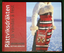 BOOK Swedish Folk Costume Rattvik ethnic dress Dalarna Scandinavian clothing art