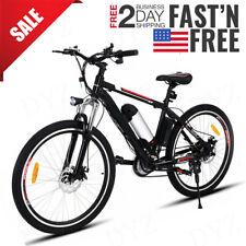 26inch Electric Bike EBike Mountain Bicycle Lithium-Ion Battery Shimano Cycling