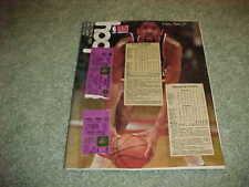 1980 New York Knicks v Milwaukee Bucks Basketball Program with tickets 12/11
