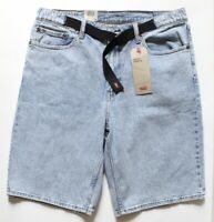 Levi's Half Pants Jean Shorts Belted Mens's size 33 **Brand New**