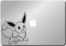 Pokemon Eevee MacBook Pro/Air/Retina laptops black sticker