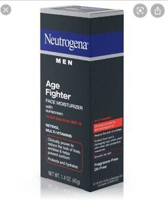 Neutrogena Men Age Fighter Face Moisturizer Broad Spectrum SPF 15
