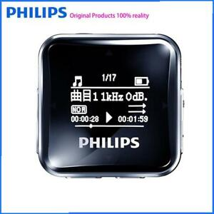 PHILIPS 8GB  FM Radio Fast Charging with Removable Clip ,Mp3 Player,Recorder
