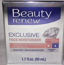NEW Beauty Renew Exclusive Face Moisturizer50+ reduces appearance wrinkles1.7oz