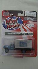 Mini Metals/CMW HO scale #30440 '60 Ford Box Truck Montgomery Ward