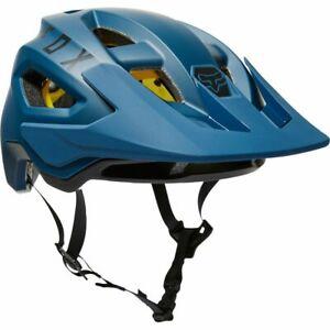 New Fox Racing Speedframe MIPS Mountain Bike Helmet Dark Indigo Adult Size MED