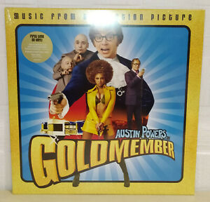 AUSTIN POWERS IN GOLDMEMBER - SOUNDTRACK - GOLD - RSD 2020 - LP