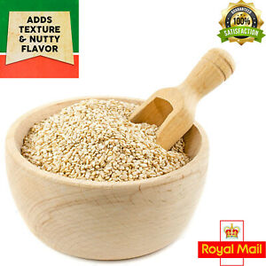 Sesame Seeds White Hulled Till Grade A+ Premium Quality 50g-2Kg Free Delivery UK