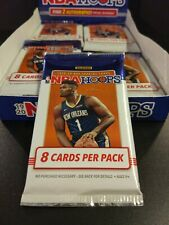 2019-20 NBA HOOPS HOBBY PACK 8-CARD PACK **FIND ZION WILLIAMSON & OTHER AUTOS**