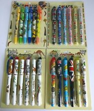 24x Australian Souvenir Pens - Bulk Savings! 7 Designs To Choose From! Kangaroo