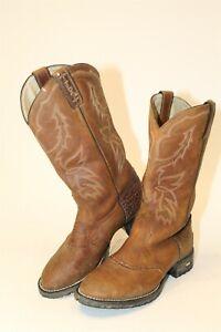 Tony Lama XT5001L Womens 7 B TLX Performance Leather Mid Calf Western Boots