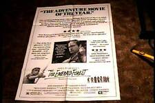 """EMERALD FOREST """"B""""  ORIG MOVIE POSTER 1985 POWERS BOOTHE"""