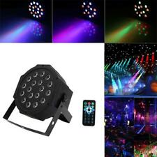 New 80W 18 LED RGB Stage PAR Light Disco DJ Lighting DMX-512 Strobe Party Light