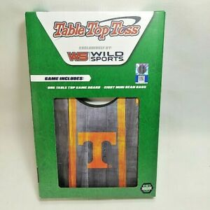 Wild Sports Tennessee Long Horns Tailgating Table Top Toss MINI Corn Hole Game