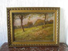Superbe ancien tableau impressionnisme signé Dronsart Lille Douai artiste coté.