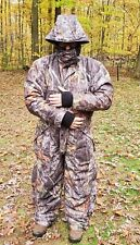 Redhead Men's XL Mossy Oak Insulated Coveralls, Bone Dry, Removable Hood.Clean!