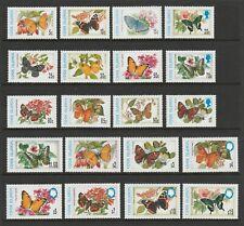 Cook Islands 1997 Butterflies Complete set SG 1402-1421 mnh.
