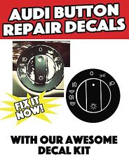 Headlight Switch Restoration Restore Decal Sticker For Audi A4 B6;B7 /A6