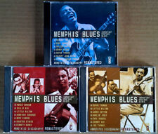 MEMPHIS BLUES - IMPORTANT POSTWAR BLUES - (3) CD'S - JSP LABEL - MADE IN U.K