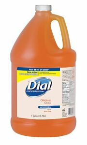 Dial 88047 Gold Antimicrobial Liquid Hand Soap, Floral Fragrance, 1 gal Bottle