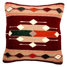 New  Maya Modern Wool  Hand woven  Pillow Cover Sofa Mexico 18 x 18 Mexican