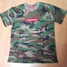Supreme Thermal Crewneck Tee Woodland Camo NWT T-Shirt Size Large L