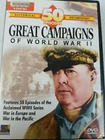 Great Campaigns of Wwii DVD War in Europe, War in the pacific