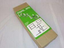 NOS Vtg 3 Tier Stagger Knick Knack What Not Wood Shelf Orig Box Made in Japan