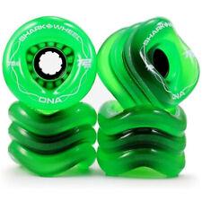 Shark Wheels DNA Longboard Wheels 72mm/78a Transparent Green Caver Cruiser