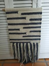 """Lovely """"Magnolia Home"""" by Joanna Gaines Wall Hanging 100% Wool Crafted By Loloi"""