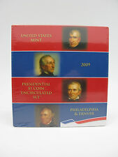 2009 US Mint Presidential $1 Coin Uncirculated Set 8 Coins