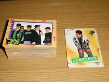 Complete Set of 88 1989 Topps NEW KIDS ON THE BLOCK Card Set with Stickers NKOTB
