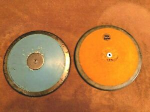 High School Discus--Lot of 2--1.61kg/3.91lbs