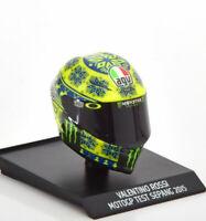 1:10 Minichamps AGV helmet Moto GP Test Sepang Rossi 2015