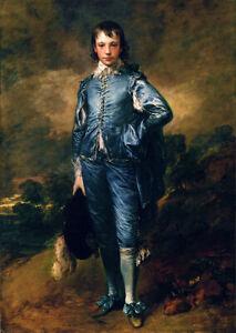 The Blue Boy (1770) by Thomas Gainsborough wall art poster print