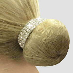 Equetech Crystal Bun Ring Scrunchie - One size - Dressage Hair Accessory