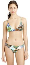 NWT $118 J.Crew Abstract Giraffe Floating Ring Bikini Top Bottom Swim S