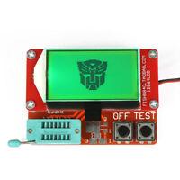 12864 LCD Transistor Tester Diode Triode Capacitance ESR led Meter MOS/PNP/NPN