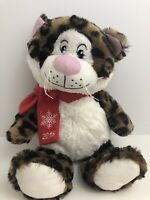 Petsmart Cat Plush Collectible Toy Brown/Black White Squeaker Stuffed Animal